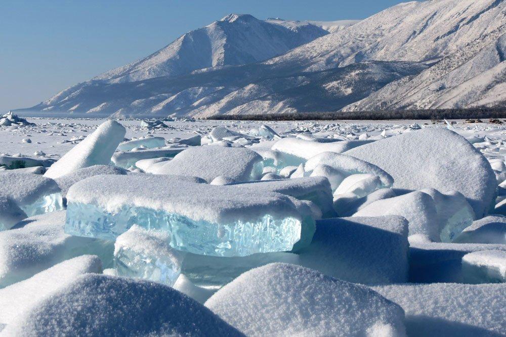 Ledus uz Baikāla