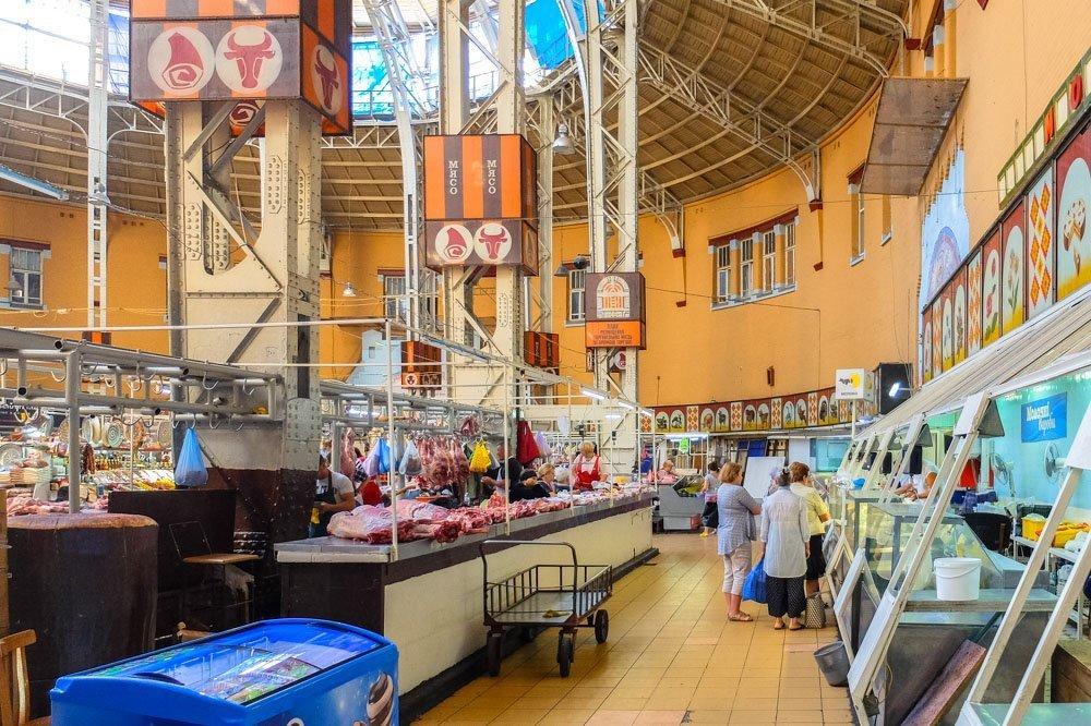 Bessarabsky Market Kijevā