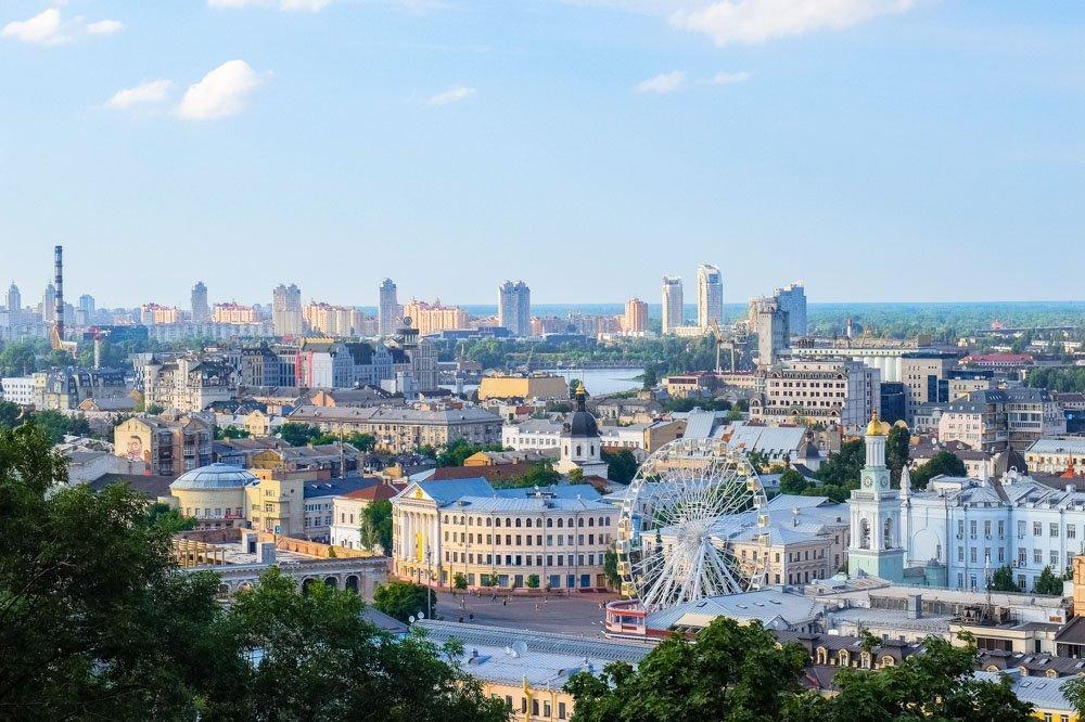 Kijeva no augšas