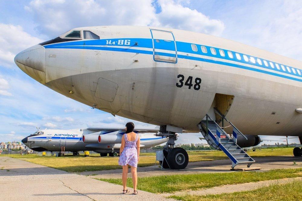 Lidmašīna Kijevas aviācijas muzejā