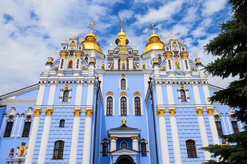 Mihaila Zeltkupolu katedrāle Kijevā