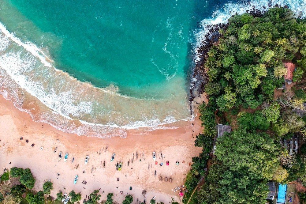 Pludmale Šrilankā