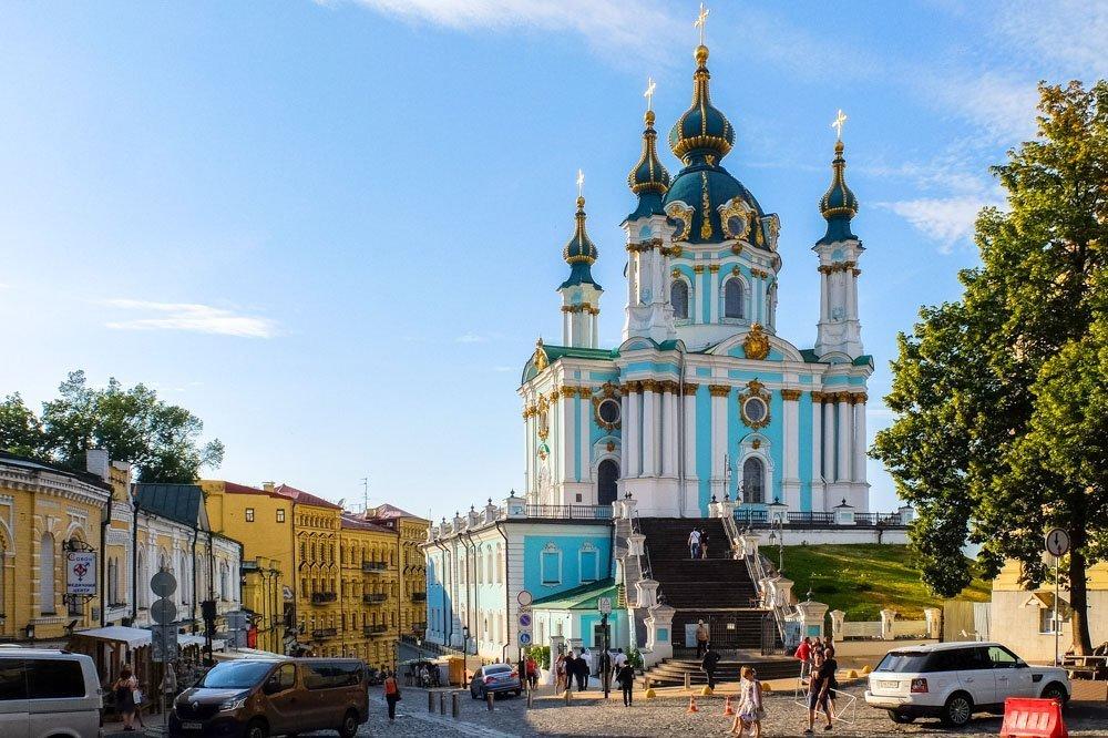 Svētā Andreja Katedrāle Kijevā