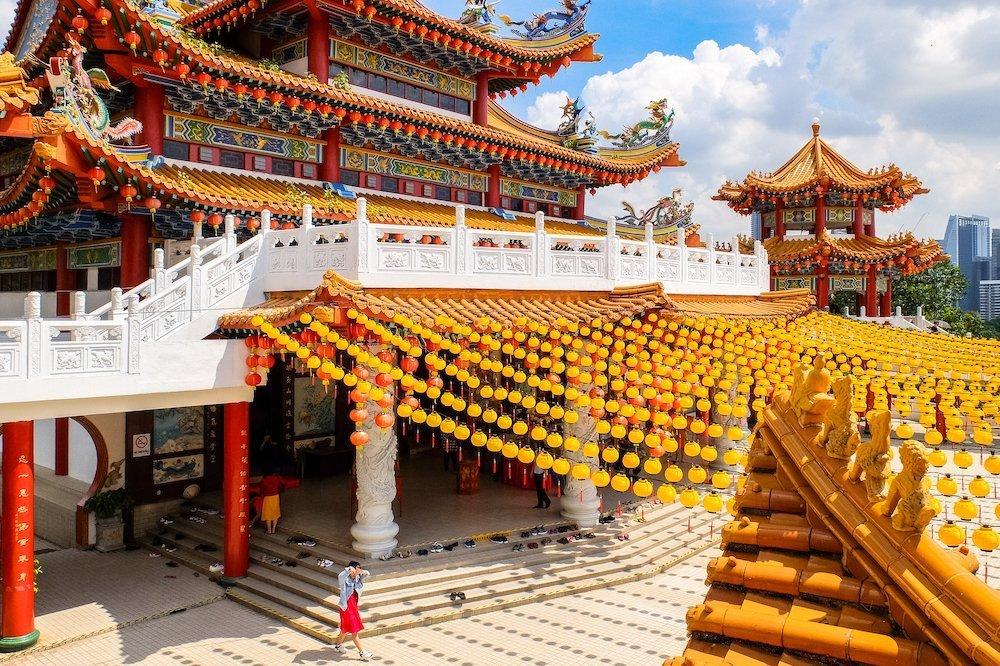 Thean Hou Temple budistu templis Kualalumpurā, Malaizija