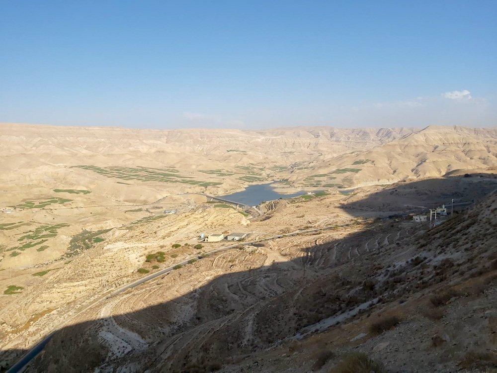 Tuksnesīgi plašumi Jordānijā