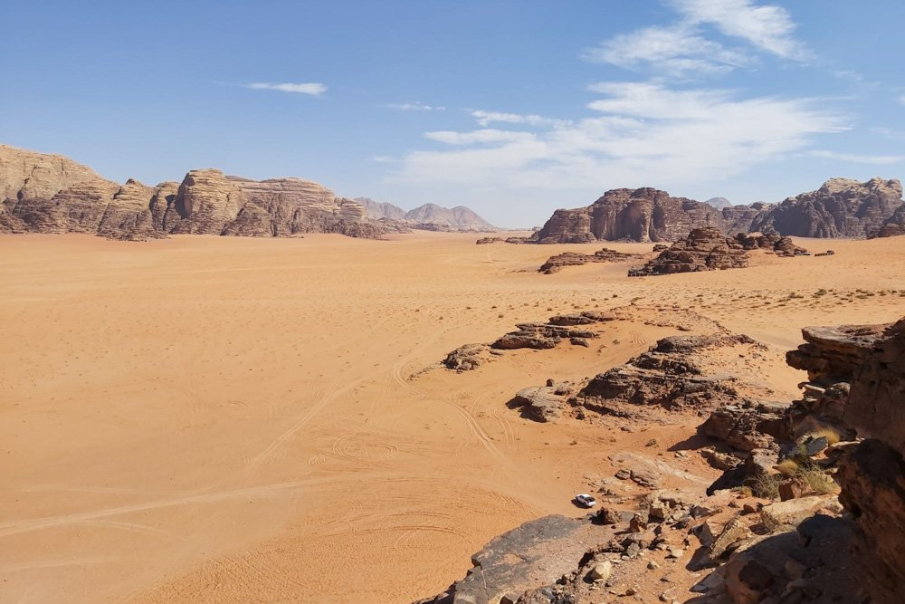 Tuksnesis Jordānijā