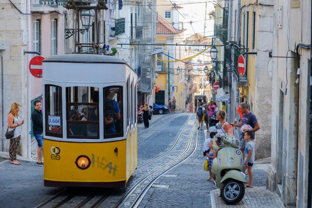Tramvajs Lisabonā