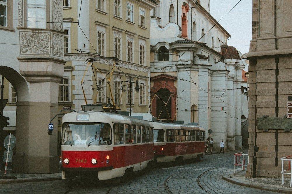 Tramvajs Prāgā