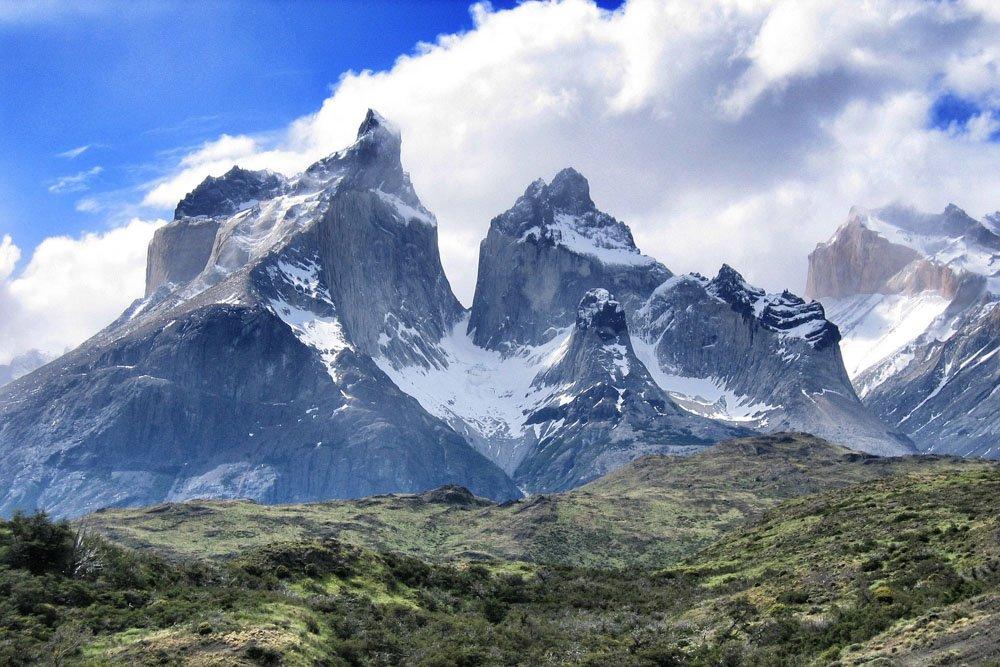 Kalni Torres del Paine parkā